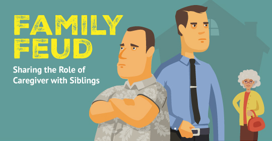 Family Feud: Sharing the Role of Caregiver with Siblings